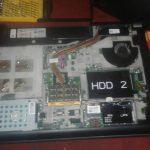 Laptop Taken Apart For Reset