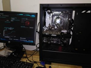 Nvidia gtx 760 Being Tested