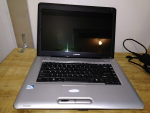 Silver Toshiba With lots of new parts