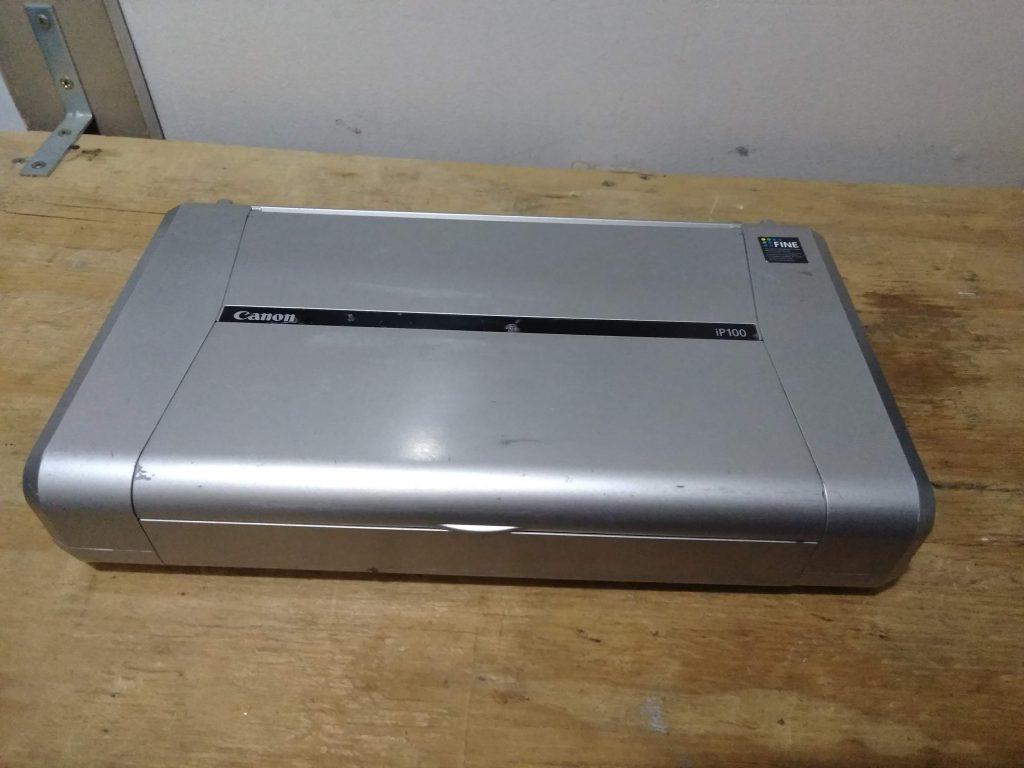 Canon K10296 Pixma IP100 Inkjet Color Portable Printer